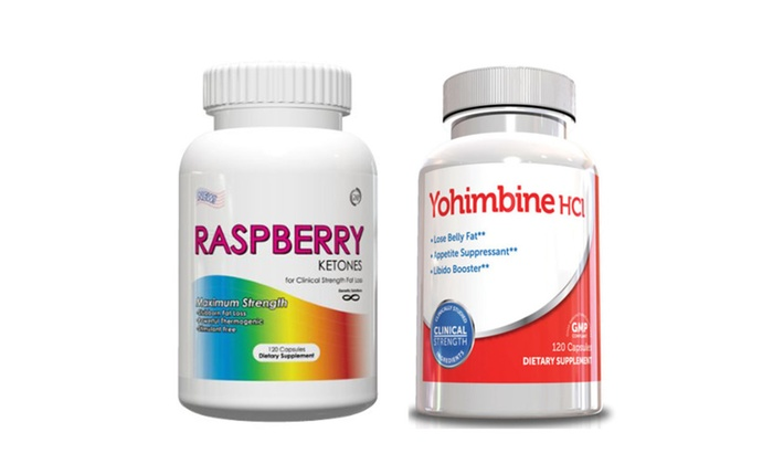 Buy It Now : Weight Loss Supplements - Raspberry Ketones & Yohimbine HCL for Men