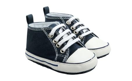 Casual Blue Baby Canvas Sneaker b7fdbfb5-1de5-4265-b74b-7eef65f08272