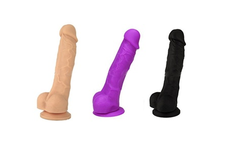 Soft Silicone Realistic Dildo with Strong Suction Cup 9137c8c1-a2a1-46ee-af5c-b27f998d08dc