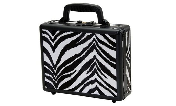 T.Z. Case Single Pistol Case / Zebra Finish 11.5x9x3.25