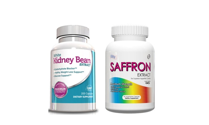 Buy It Now : Weight Loss Pills - Saffron Extract & White Kidney Bean Extract