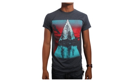 Triangle Contrast T Shirt