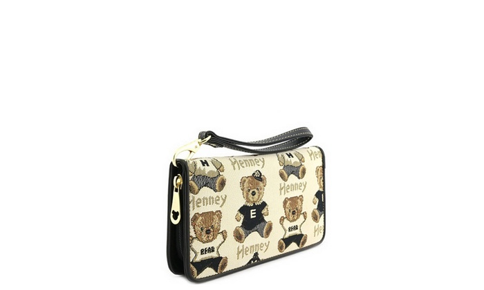 Women's Henney Bear Wallet GW625