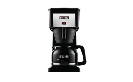 BUNN GRB Velocity Brew 10-Cup Home Coffee Brewer, Black 62ccf2ee-00e0-4173-a916-95125c082170
