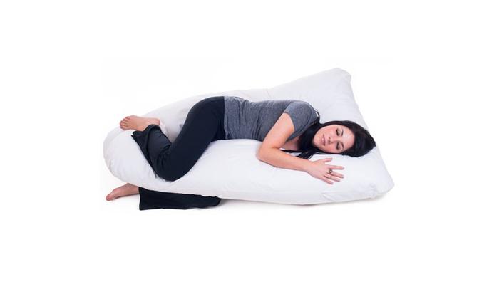 Full Body Contour U Pillow Groupon