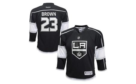 Dustin Brown Los Angeles Kings Kids Nhl Reebok Home Replica Jersey 56e10d53-02fb-46aa-91a4-0b0d9a879167