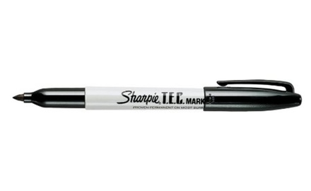 Sharpie 13401 Trace Element-Certified Ink Marker, Black, Dozen