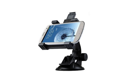 Universal 360 Rotated Phone Holder Stand Car Sucker Phone Base Bracket 162a08df-6e68-47dc-b4df-7efe33906385