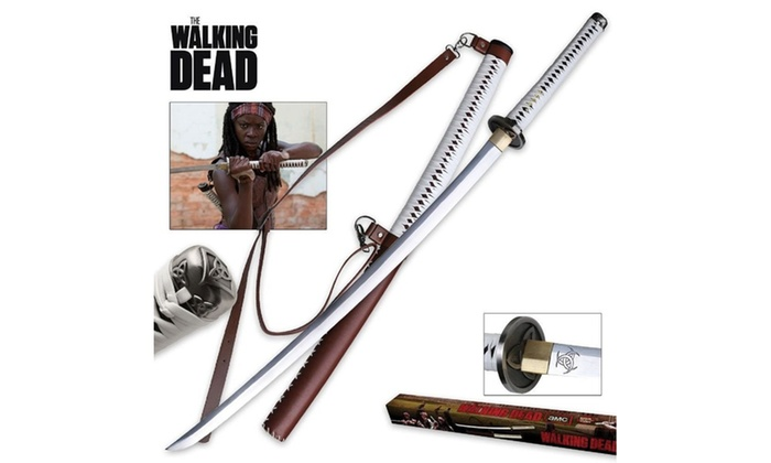 Master Cutlery The Walking Dead Movie Hand Forge Sword