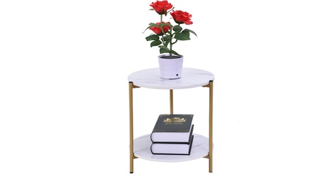 Fashion Small End Table Living Room Coffee Table Creative Sofa Bed Table