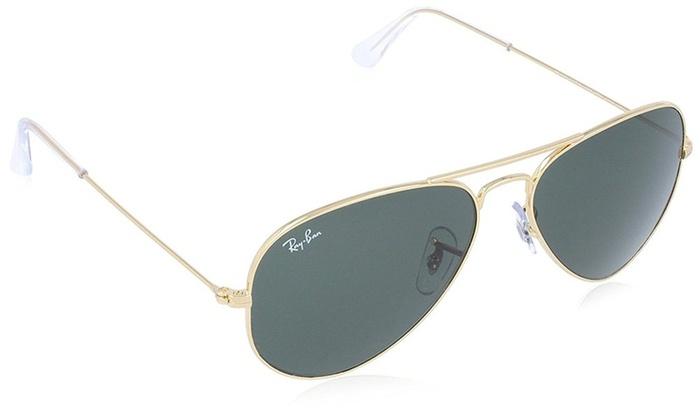 ray ban aviator gold sunglasses