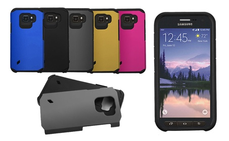 Premium Shockproof Case Cover For Samsung Galaxy S6 Active 0199b05b-5ef3-4482-be3b-73a671e86283