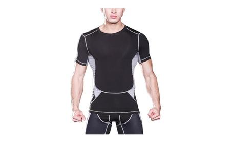 Men's Short Sleeve Compression Top 023d5f38-43a4-4aa1-b7a8-2c6674a1ed7b