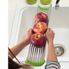 Folding Sink Drying Rack in Stainless Steel