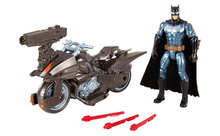 Mattel Justice League Batman™ & Batcycle™ Vehicle And Figure FGG53 a53a2e1f-e782-4a85-adc3-0f1eff88a15e