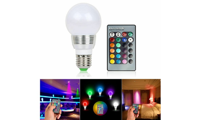Up To 45 Off On 16 Color Changing Magic Light Groupon Goods