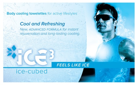 ICE-cubed Cooling Towelettes