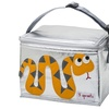3 Sprouts Lunch Bag - Orange Snake