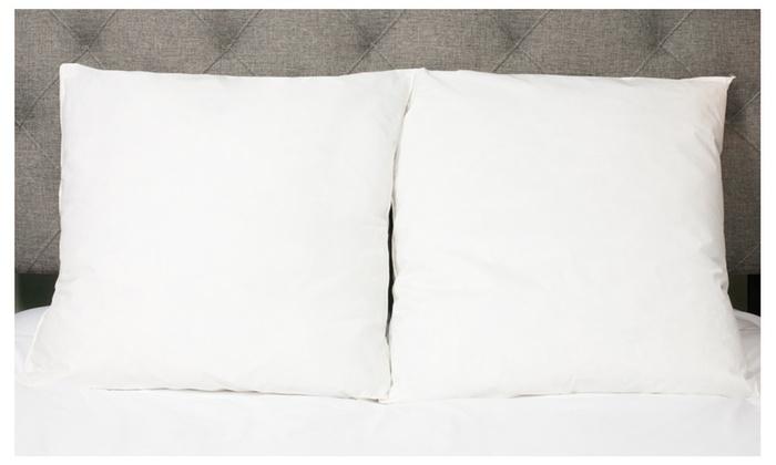 European style cotton down and feather euro square pillow for Cheap european pillows