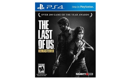 The Last of Us Remastered - Sony Playstation 4 (PS4) Digital Download Card