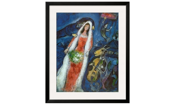 La Mariee by Marc Chagall   Groupon