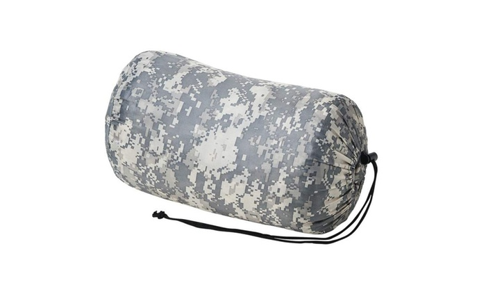 Camouflage Sleeping Bag with Carrying Bag