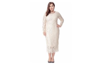 Women Plus Size Elegant Style Party Dress - ZWWD124 - ZWWD126 143dc15e-b127-4214-9f4c-802ab2e64ee4