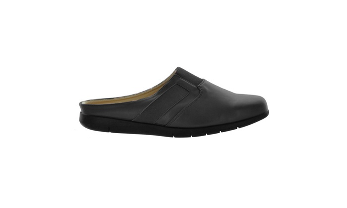 Comfortview Sarah Wide Mule-Style Slip On Shoes - Assorted Colors
