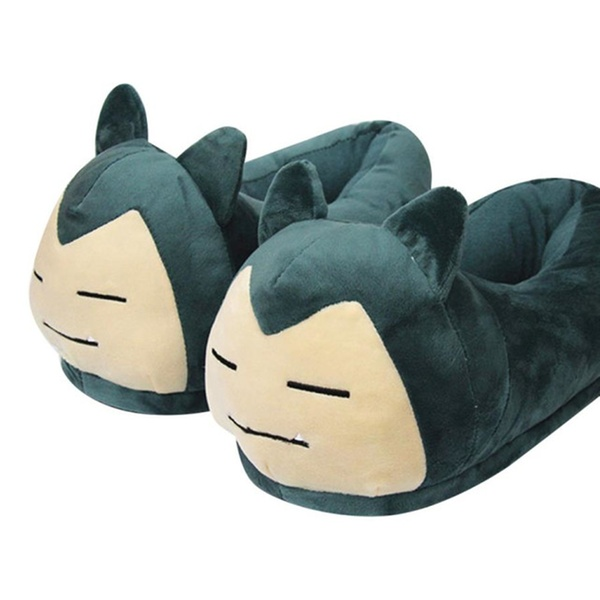 Pokemon Snorlax Plush Slippers(28cm