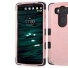 Insten Tuff 3 Layer Hybrid Hard Case For LG V10 Rose Gold Black