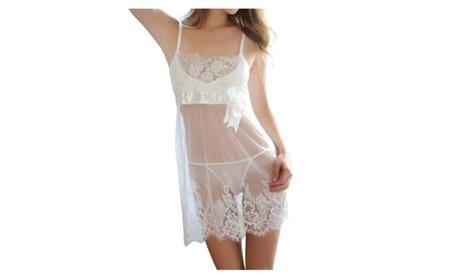 Women Lace Mesh Babydoll Sleepwear Lingerie - KMWL987 9527acf8-52f4-49f4-8bb8-ef061007bd67