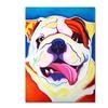 DawgArt Bully Grin Canvas Print