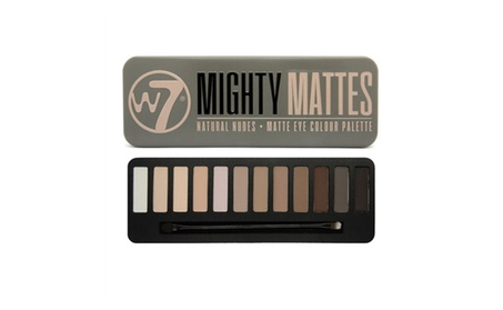 W7 Mighty Mattes Natural Nudes Matte Eye Colour Palette 0.55oz / 15.6g 1251046b-0e10-47fa-a8e4-2139b1406371