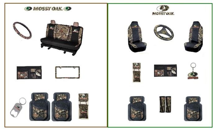 9c43bebcb643e Mossy Oak Camo Truck Accessory 9 Pc Set or Auto Accessory 11 Pc Set ...