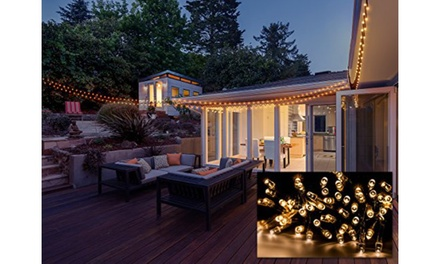 Sorbus 50-Foot Solar LED String Lights