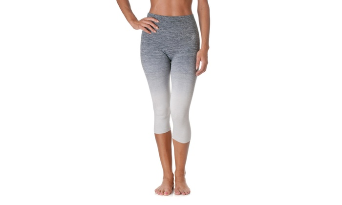 Riverberry Active Capri Ombre Exercise Legging LY1124-1