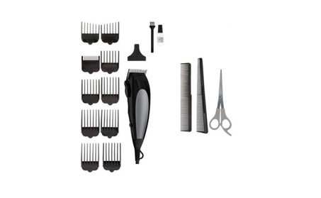 Trimmer Haircut Kit Home Pro Complete Haircutting Kit 18 Pieces 02d31556-a50d-4849-bbab-e3d9958f2d12