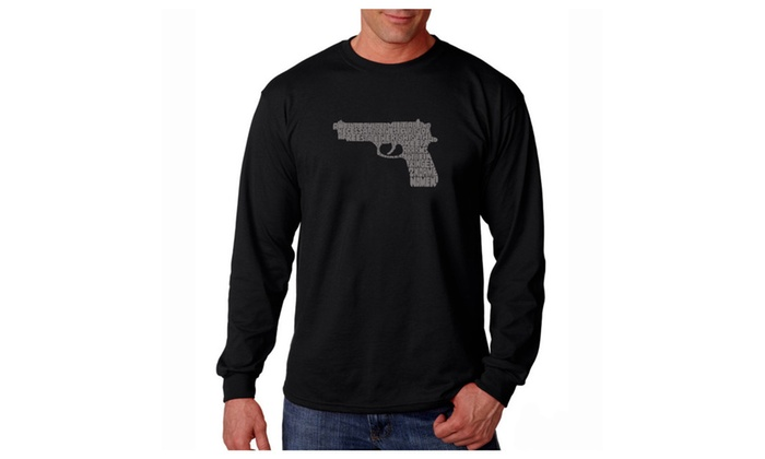 Men's Long Sleeve T-shirt - RIGHT TO BEAR ARMS