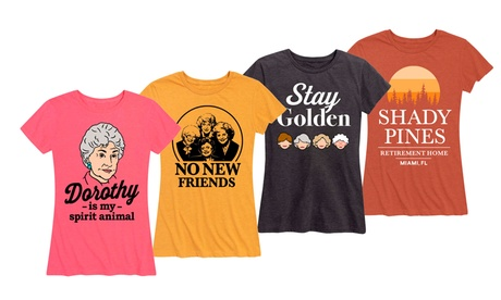 Instant Message: Women's and Women's Plus Stay Golden Tees