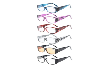 Eyekepper 6-Pack Spring Temple with Austrian Crystals Reading Glasses 19f954dc-d879-4f85-9b54-928fe450afdc