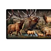 American Expedition Cutting Board - Elk Collage