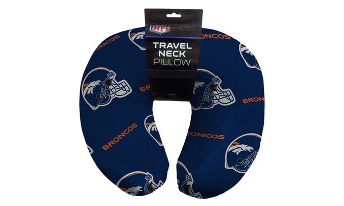 NFL 117 Broncos Beaded Neck Pillow