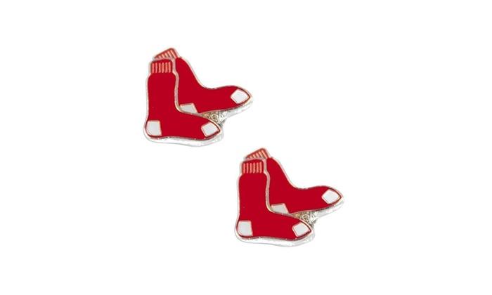 Boston Red Sox Post Stud Logo Earring Set MLB Charm
