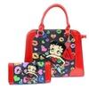 Betty Boop Rock N Roll Guitar Handbag Purse & Wallet Set