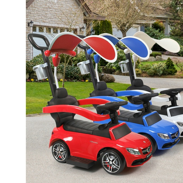 Cars For Kids >> Electric Cars For Kids Push Car Mini Car Toy Kids Ride On Car W Canopy
