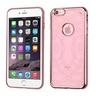 Insten Echo Gel Cover Case For Apple iPhone 6 Plus 6s Plus Rose Gold