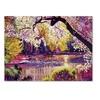 David Lloyd Glover Central Park Spring Pond Canvas Print