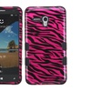Insten Tuff Silicone Case For Alcatel One Touch Fierce XL Hot Pink