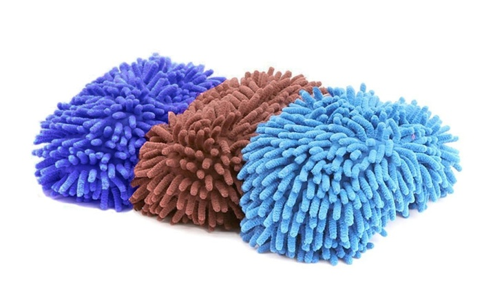 Anti-Microbial Dust Mop Slippers - Multiple Colors