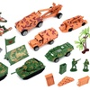 Special Forces Army Territory Children's Kid's Toy Vehicle Playset w/ Vehicles